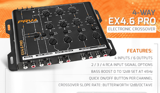 PRV Audio - EX4.6 PRO Product highlight