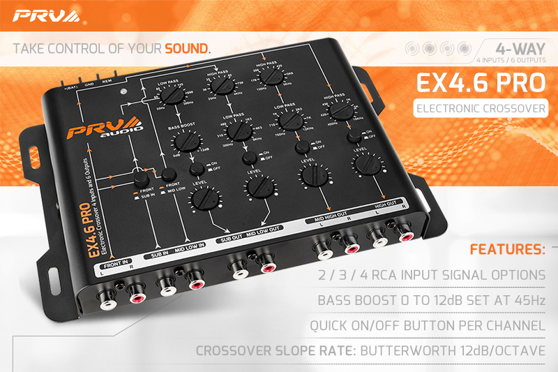 News Image - EX4.6 PRO - Take Control of Your Sound