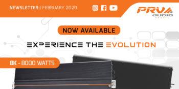 Newsletter / February 2020: 8K Full Range Amplifier