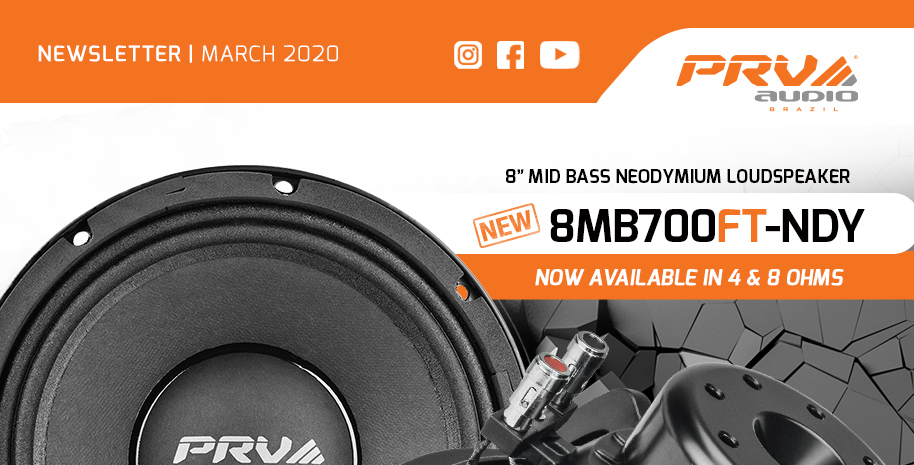 PRV Audio - March 2020 Newsletter - 8MR450A 8MB700FT-NDY TW450Ti-Nd-4 V2 Website
