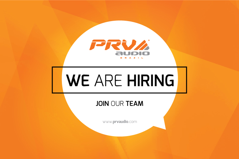 PRV - We are hiring!
