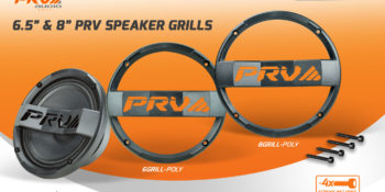 "New Release: PRV 6.5"" AND 8"" Loudspeaker Grills"