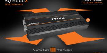 New Release: SQ15000X Full Range Class D 12v Amplifier