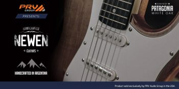 PRV Audio Group proudly introduces NEWEN Guitars
