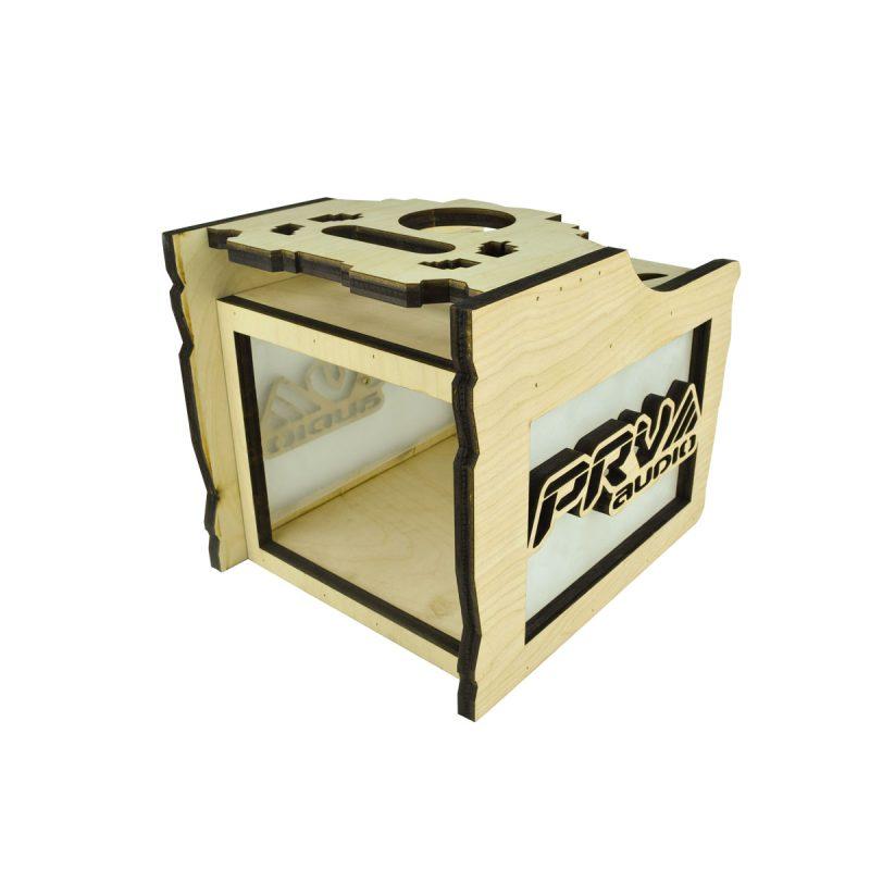 Radio-Box-4EQ-Acrylic---Front-Left-View