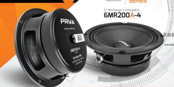 New Release: 6MR200-4 - Now available in 4 Ohms!