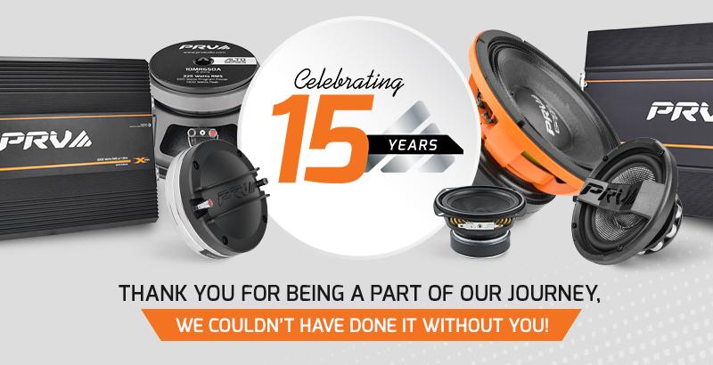 PRV Audio - Celebrating 15 Years - NEWS Thumbnail